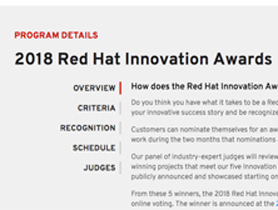 Red Hat Innovation Awards